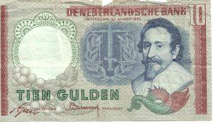 10 gulden-biljet