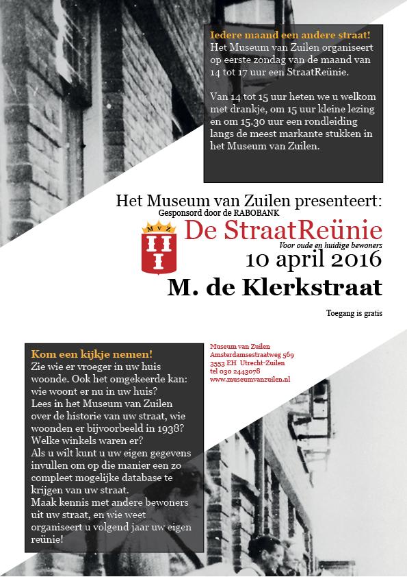 StraatReünie M. de Klerkstraat