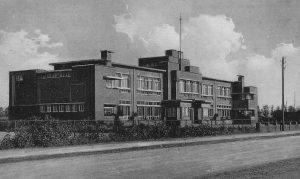 Openbare Lagere School IV, later de Prinses Beatrixschool 'in nieuwstaat'