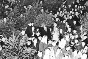 Kerstboomverbranding Mariëndaal