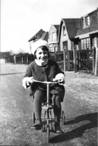 fietsen op trottoir